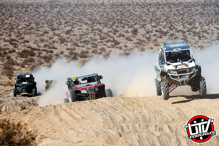 Getting a good start and making the next competitor eat dust was the Production 1000 class winning team of Ken Hower and co-driver Scott McCollough (1962).