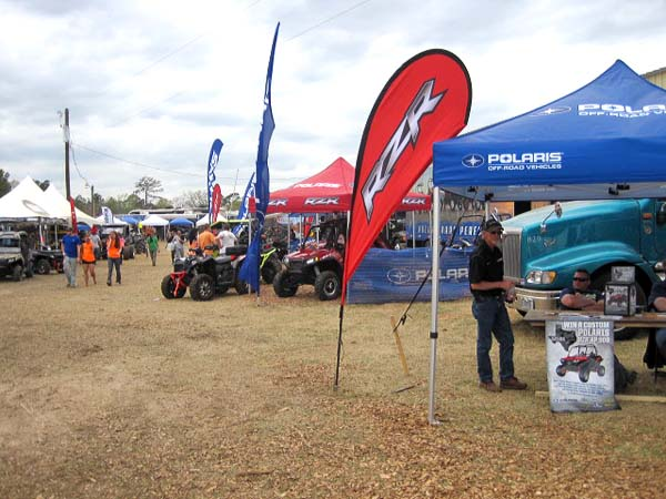 Major manufacturers including Polaris, Yamaha, Can-Am and Arctic Cat were all on hand.