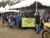 """MTA rep John Plunkett and the Performance Powersports display were hammering. A big """"thanks"""" for keeping us fed!."""