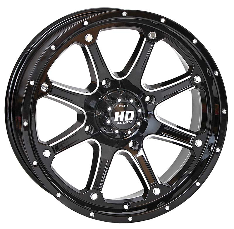 HD4 GLOSS BLACK/MACHINED