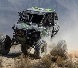 Monster Matt Burroughs and his Polaris RZR on Chicane RX tires.