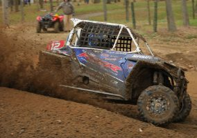 John Barnes, Polaris Factory Racing RZR on STI Roctane XD tires.