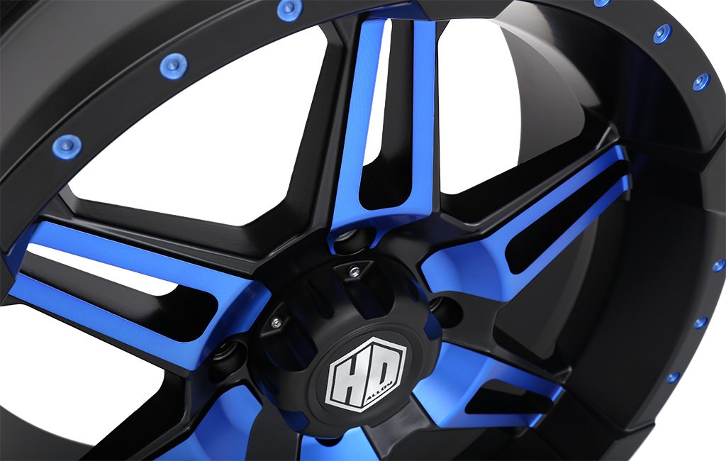 HD7 Radiant Blue detail