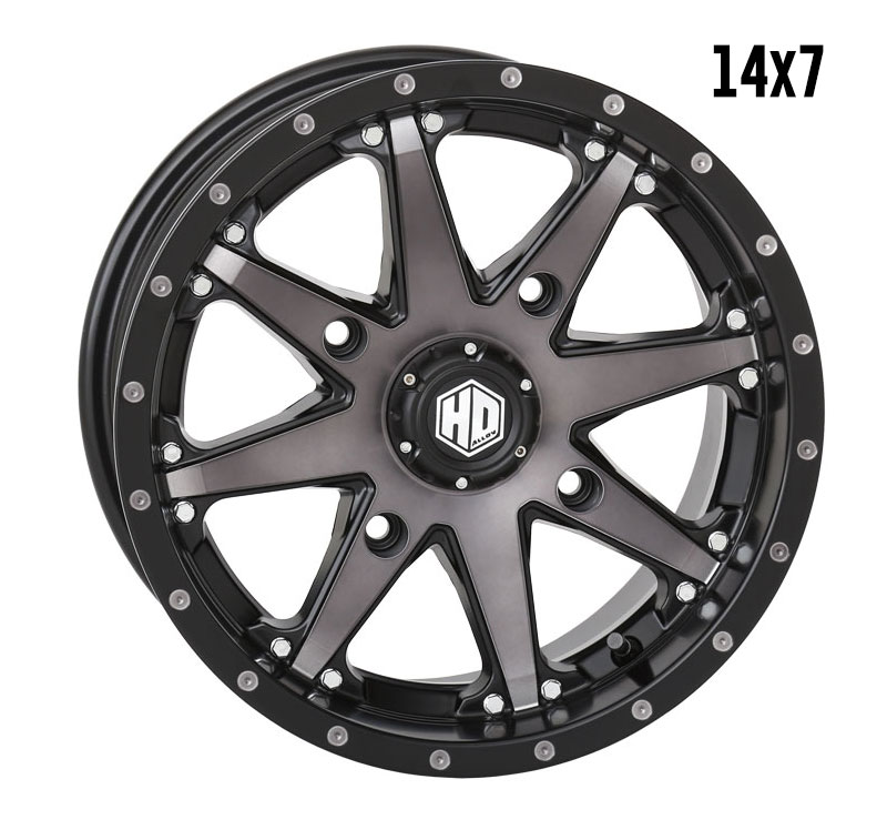 Hd10 Matte Black Smoke Sti Powersports Tires